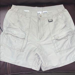 Mens Large Columbia PFG Fishing Shorts